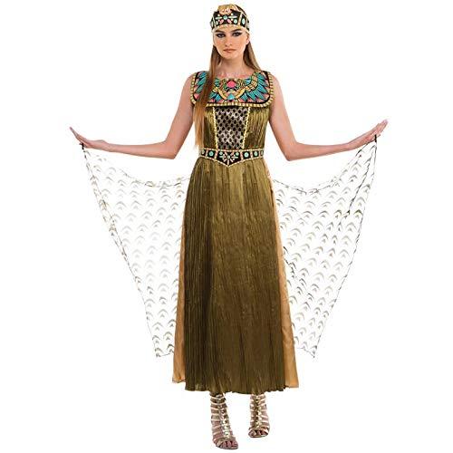 Disfraz de cuento de hadas de Cleopatra para mujer adulta de Halloween