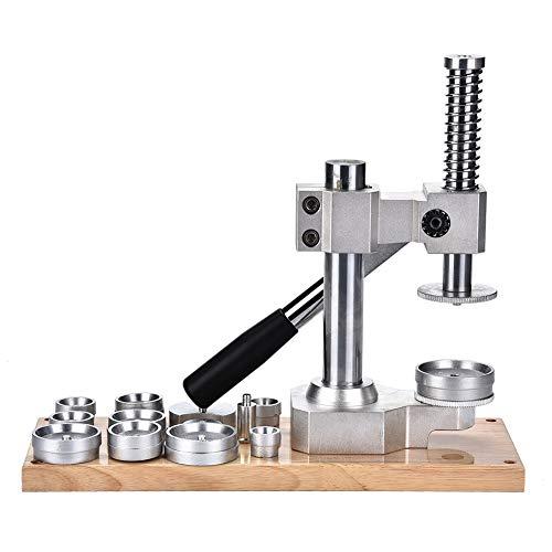 El conjunto de la prensa del reloj, el cerrador profesional de la caja del reloj de 12 pcs con el kit de troqueles de prensa, la prensa de hierro fundido para los relojeros Reparación de herramientas