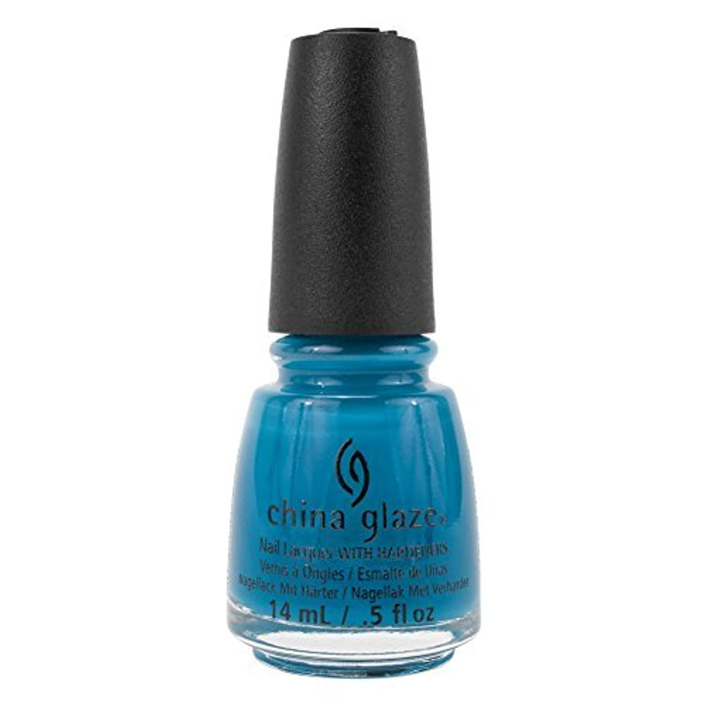 どきどきバウンス銀行China Glaze Nail Polish-License & Registration Pls 82381 by China Glaze [並行輸入品]