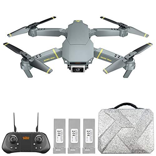 Goolsky Drone GD89 Max con Fotocamera Mini Drone 6K GPS RC Quadcopter con 15 Minuti di Volo Tempo di Volo Regolabile a 90 ¡ã Gimbal Rilevamento Ostacoli Gesto Foto Video