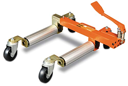Unicraft Rangierhilfe PV 681 (Tragkraft 680 kg, mit Fußpedal, mit Lenkrollen, Aluminium-Gestell), 6201602