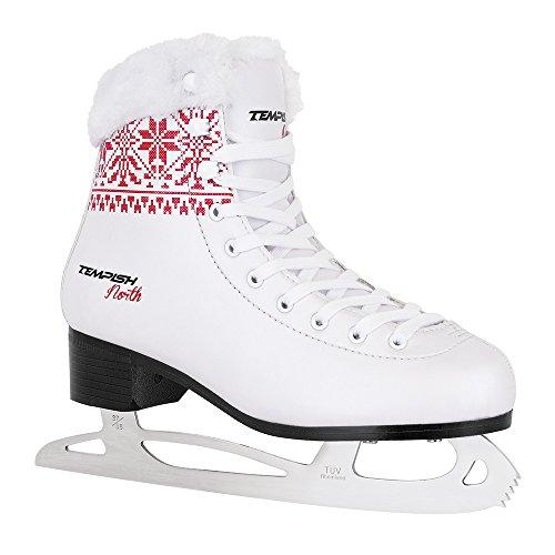 TEMPISH Damen North Eiskunstlaufschlittschuhe Für Mädchen, Weiß, 39
