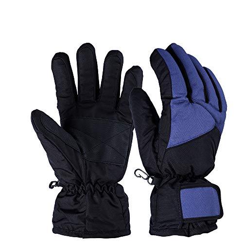 KUNSE koude bescherming antislip, waterdicht en warm outdoor ski handschoenen