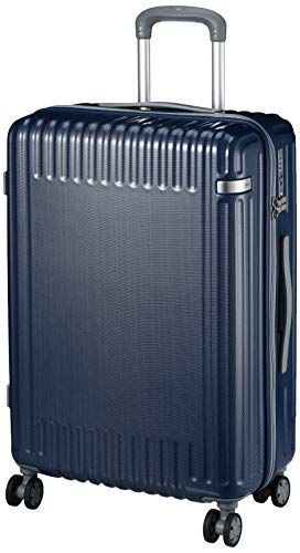 [エース トーキョー] スーツケース パリセイド2-Z ケースカバー付 58L 3.7kg ネイビーカーボン