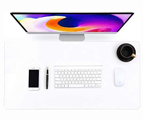 Alfombrilla de escritorio transparente para mesa de escritorio, impermeable, con borde redondo, para portátil, oficina, hogar, etc