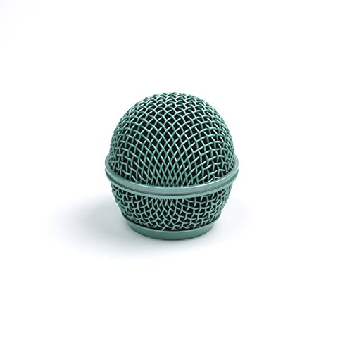 Replacement Mesh Microphone Grille For Shure SM58 565SD LC SV100 ,Green