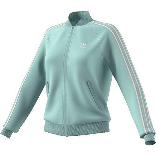 Adidas Sweatjacke Damen SST TT ED7590 Mintgrün, Size:34