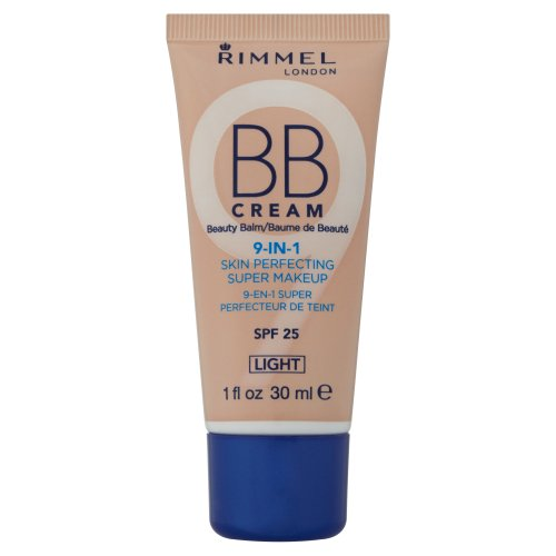 Rimmel BB Cream 9-en-1 Supermaquillaje, color claro