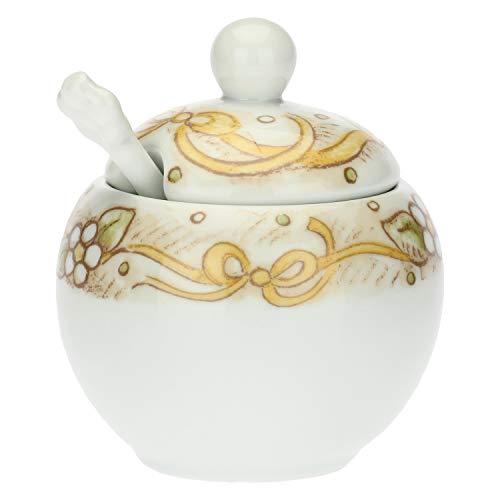 THUN -Zuccheriera in Porcellana con cucchiaino Cerimonia