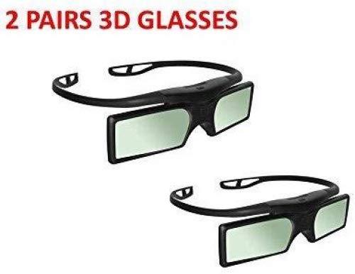 2 pares 3D RF obturación activa para Sony TDG-BT500A TDG-BT400A modelos