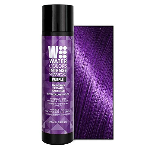 Watercolors Intense Color Shampoo 8.5 oz (Purple)