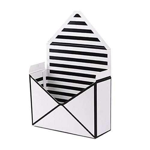 Tassen wikkelbenodigdheden - envelop vouw bloem opslagdoos bruiloft verloving partij decor polka stip strepen gedrukt karton - doos snoep doos doos doos doos papier ambachtelijke Kraft benodigdheden doos jood H