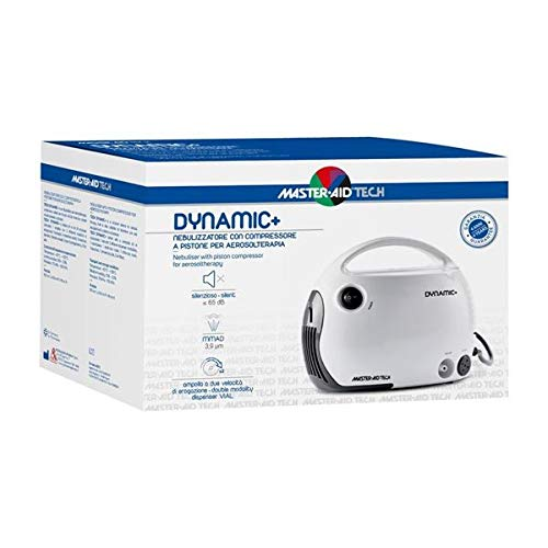 Pietrasanta Pharma M-Aid Dynamic Aerosol Nebulizzatore a Compressore per Aerosolterapia - 50 g
