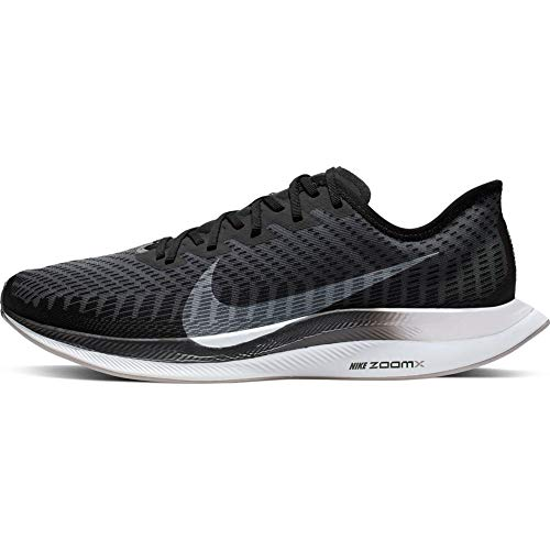 Nike Zoom Pegasus Turbo 2 Men's Training Shoe Black/White-Gunsmoke-Atmosphere Grey 11.5