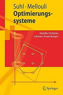 Optimierungssysteme: Modelle, Verfahren, Software, Anwendungen (Springer-Lehrbuch) (German Edition)