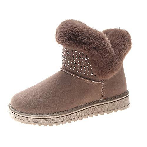 Frauen Winter Schuh Runde Kappe Warm Cotton Martin Stiefel halten