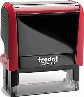 Trodat PRINTY 4913 Nero colore Cuscino per lavori manuali