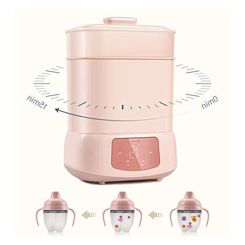 ZFSWMY Baby-Flaschen-Sterilisator und Trockner Multifunktionale elektrische Dampf-Sterilisator, Intelligent Babyflasche Desinfektions Automatische Thermostat Reise Sterilisator for Baby Kind