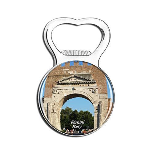 Weekino Italien Arco di Augustus Rimini Kühlschrankmagnet Bier Flaschenöffner Stadt Reise Souvenir Sammlung Starker Kühlschrankaufkleber