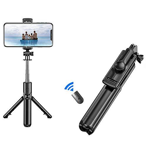Selfie Stick Tripod,Portable 3 in 1 Bluetooth Selfie Stick with Detachable...