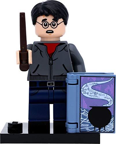 LEGO Harry Potter 71028 - Minifigura de Harry Potter (en caja de regalo, libro de bebedero mágico)