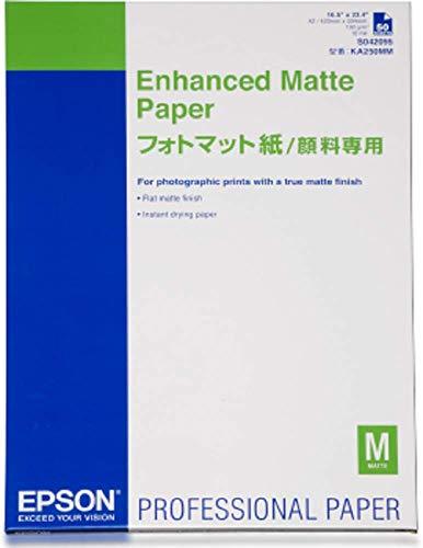 Epson C13S042095 Enhanced matte paper inkjet 189g/m2 A2 50 Blatt Pack