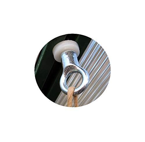 MacGreen® Gewächshaus-Metall-Pflanzenhalter H 16 (15 Stück)