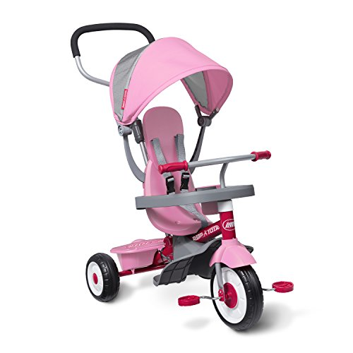 Radio Flyer 4-in-1 Stroll 'N Trike Pink, 19.88' x 35.04' x 40.75'