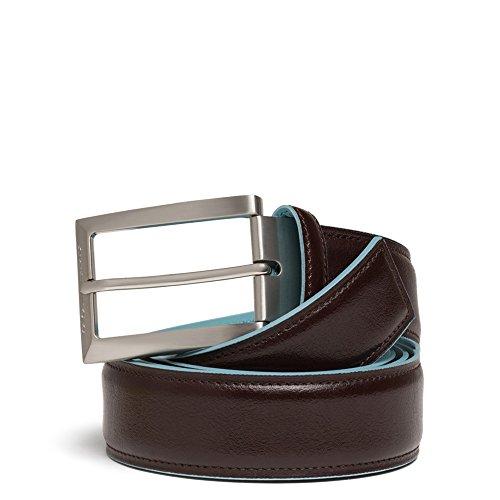 PIQUADRO - Cintura da uomo con fibbia, Mogano (Marrone) - CU1521B2/MO