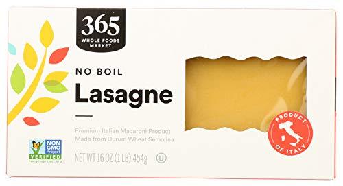 No Boil Lasagne Noodles