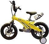 LYP Triciclo Bebé Trolley Trike Bicicleta para niños convenientes, niños de 3 a 6 años de Edad 12/14/16 Pulgadas Hombres y Mujeres Pedal de bebé Aleación de magnesio Bicicleta de montaña cómoda