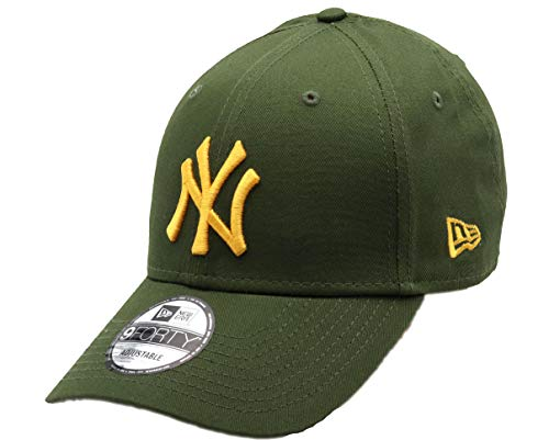 New Era York Yankees 9forty Adjustable cap Rear Logo Rifle Green/Gold - One-Size