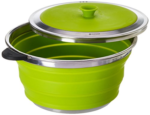 Outwell Collaps Kochtopf 4,5 Liter mit Deckel grün
