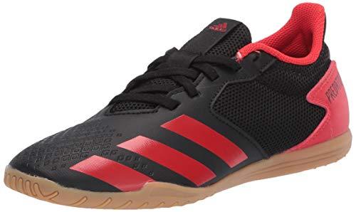 adidas Men's Predator 20.4 Indoor Sala Soccer Shoe, core Black/Active red/core Black, 13