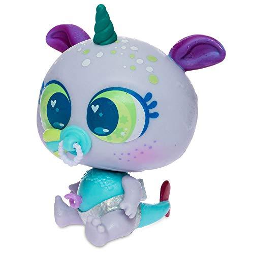 Neonate Distroller Baby Doll Ksimerito Aquatic Water Aquamerito GluGlu Aquachin Morado Purple by Distroller Limited Edition in Spanish