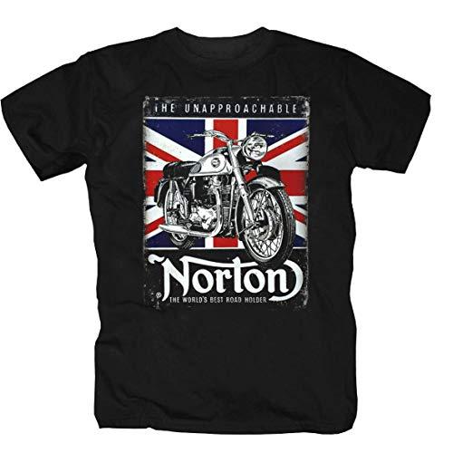 Norton 2 negro Camisa S