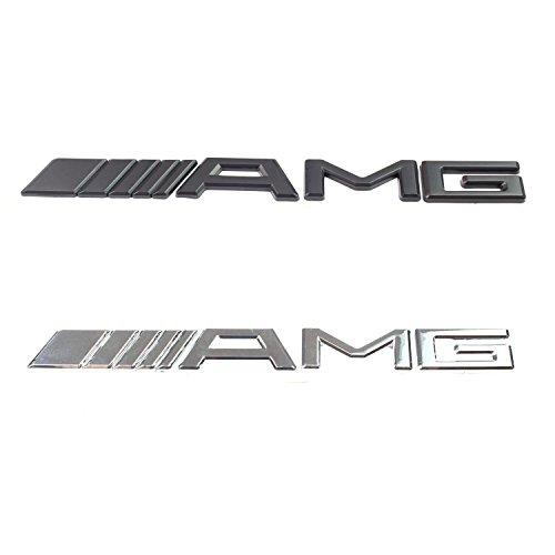 Mercedes Benz AMG Abzeichen Rear-Boot-Auto (Schwarz)