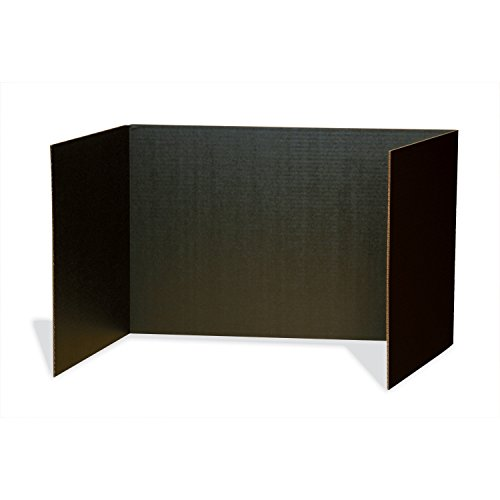 Pacon Privacy Boards, Black, 48' x 16', 4 Boards (3791)