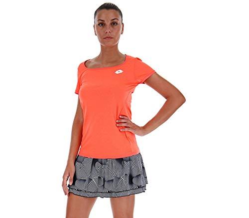 Lotto Tech PL Korail T-Shirt pour Femme Blanc Taille XS