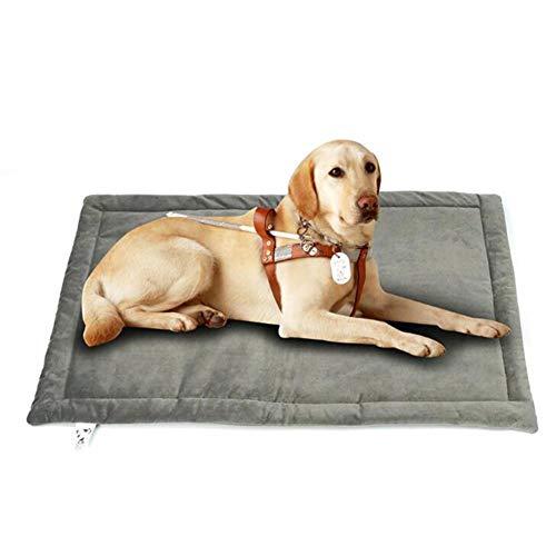 Monbedos hondenmand hondenmand hondensofa wasbaar hondenbed met rand voor buiten en thuis - grijs