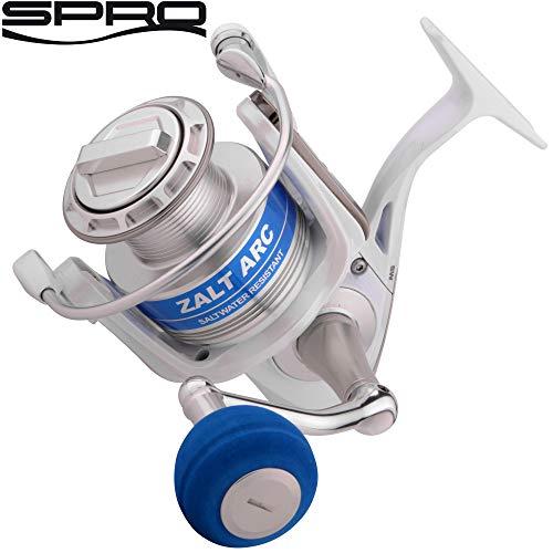Spro ZaltArc 7000 - Meeresrolle zum Pilken & Spinnfischen, Angelrolle zum Dorschangeln, Stationärrolle zum Pilkangeln auf Dorsche