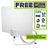 Best GENERIC Hdtv Antenna Indoors - Mohu Leaf 30 Television Antenna, Indoor, 30 Mile Review