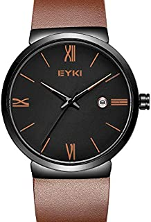 EYKI Dress Watch For Men Analog Leather - E1120L