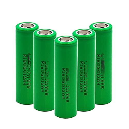 6pcs 18650 3.7v 3500mah Batería De Iones De Litio Recargable, para Linterna, Potencia MóVil, Gamepad, CáMara Walkie-Talkie