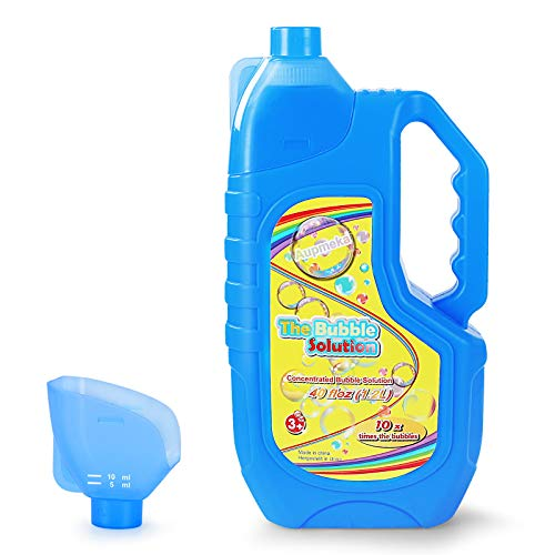 Aupmeka Bubble Solution Refills Concentrated Solution 40 Ounce( 3 Gallon )...