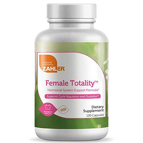 Zahler Female Totality, Fertility Supplements for Women, Fertility Prenatal Vitamins, Certified Kosher, 120 Capsules