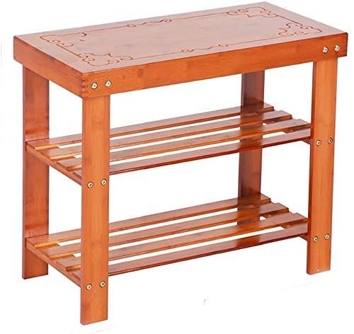 XWZH Zapatero a prueba de polvo de 4 capas de madera maciza, zapatero multifuncional, estante de almacenamiento de carga para el hogar, moderno zapatero que ahorra espacio (tamaño: 45 x 28 x 60 cm)