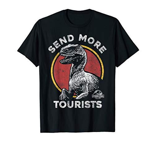 Jurassic Park Send More Tourists Raptor T-Shirt