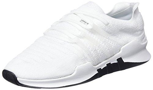 adidas Damen EQT Racing ADV Primeknit Fitnessschuhe, Weiß (Ftwbla/Ftwbla/Tinazu 000), 39 1/3 EU