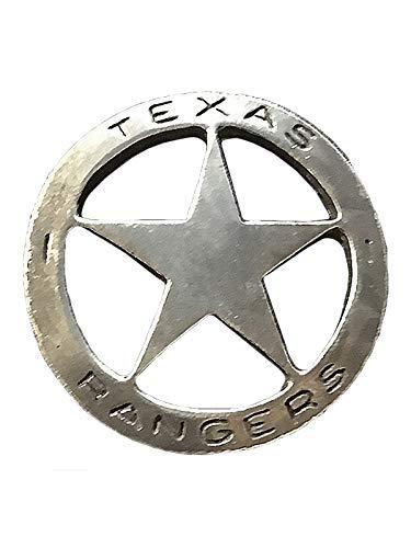 Anstecker Pin Sheriffstern Texas Rangers Historische Nachbildung Made in USA Western Country
